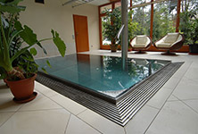 Stainless steel pools